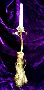 (8) Japanese Iris & Bulb Vase & Candlestick in ETSY